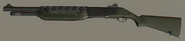 Camo Shotgun
