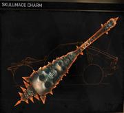 Skullmace Charm