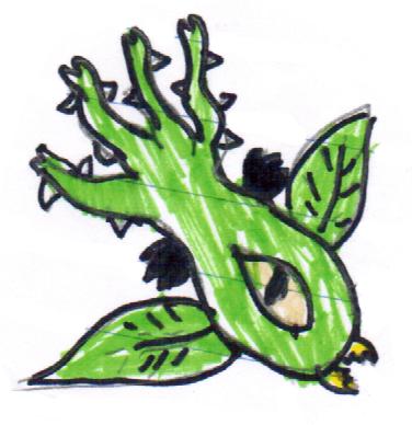 File:Black flower arrow leaf.png