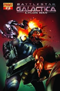 Cylon War 02 Cover A