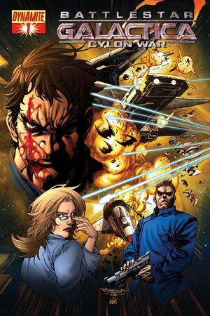 Cylon War 01 Cover A
