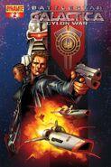 Cylon War 02 Cover B