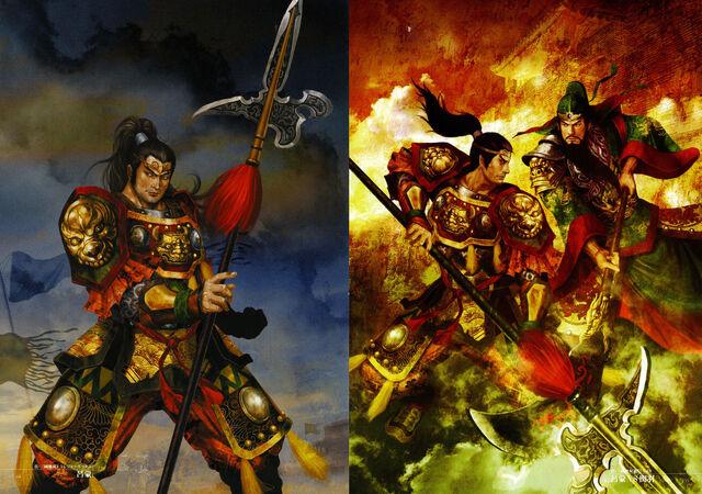 File:Dynasty Warriors 4 Artwork - Lu Meng.jpg