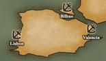 Iberian Peninsula - Port Map 2 (UW5)