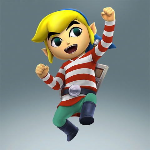 File:Toon Link Alternate Costume 2 (HWL DLC).png