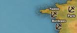 West Coast of France - True Port Map (UW5)