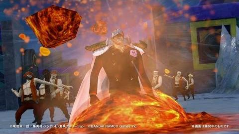 PS4・PS3・PS Vita「ワンピース 海賊無双3」 プレイ動画【赤犬】編