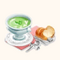 Chilled Edamame Soup (TMR)