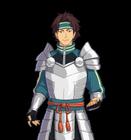 Pokemon Conquest - Generic Male Warrior
