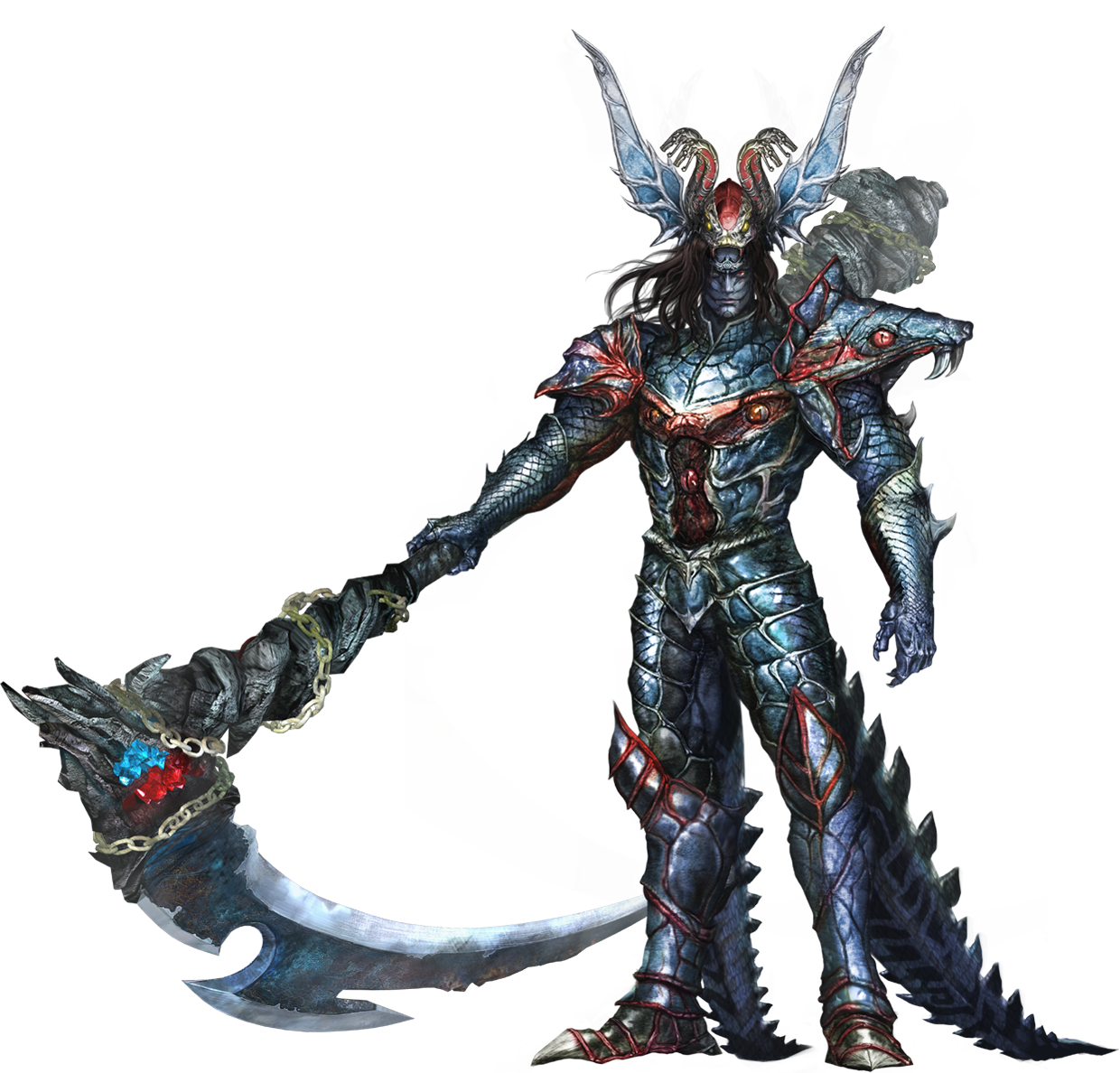 Warriors Orochi 3 Character List: Image - Orochi Concept (WO).png