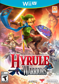 Hyrule Warriors US Boxart