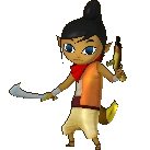 Tetra Alternate Costume 3 (HWL DLC)