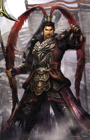 File:Lu Bu 15th Anniversary Artwork (DWEKD).jpg