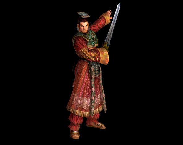 File:Dynasty Warriors 3 Render - Sun Quan.jpg