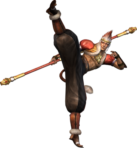 File:Sun Wukong Orochi Render.png