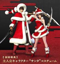 Protagonist Santa Outfits (SWC3 DLC)