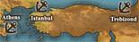 Asia Minor - True Port Map (UW5)