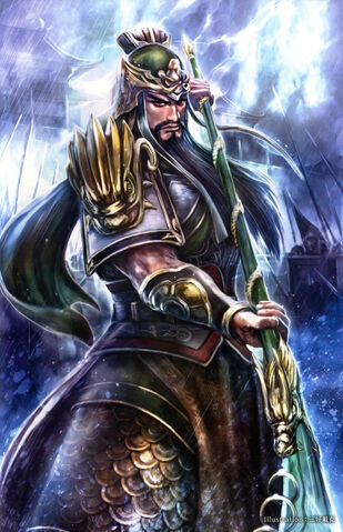 File:Guan Yu 15th Anniversary Artwork (DWEKD).jpg