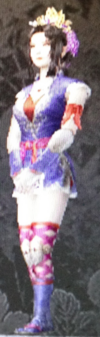 Kanayamahime Dress (Kessen III)