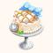 White Marshmallow Cake (TMR)