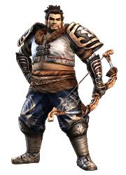 File:Xiahou Yuan - Dynasty Warriors Strikeforce.png