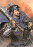 Xiahou Dun Watercolor Artwork (ROTK13PUK DLC)