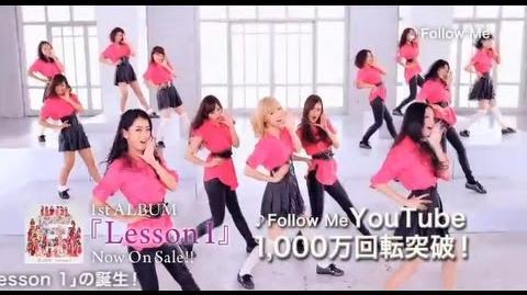 """E-girls - 1st Album """"Lesson 1"""" CM"""