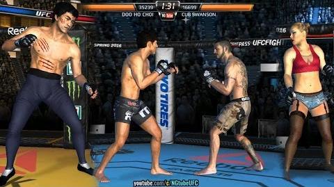 UFC 206 Cerrone vs Brown Live Event (MOD - Bruce Lee, Doo Ho Choi) UFC모바일