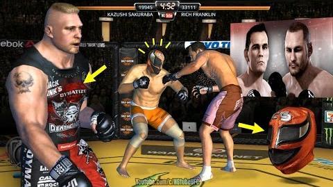 UFC Franklin VS Henderson Fantasy Live Event (MOD - background, mask, beard, shirts)