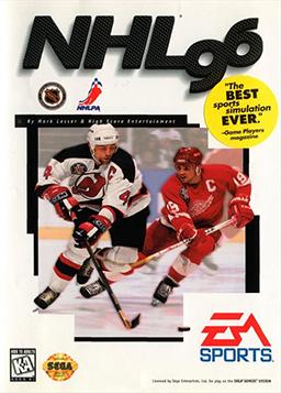 NHL 96 Coverart