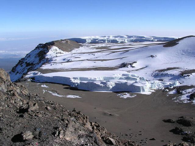 File:Glacier at summit of Mt Kilimanjaro 001.JPG