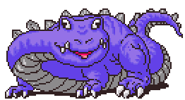 Chomposaur Battle Sprite