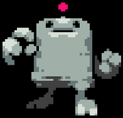 Clayman Battle Sprite
