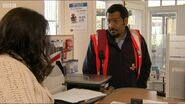 Zainab and Masood in the Post Office