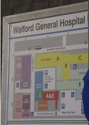 Walford General Hospital Map