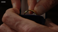 Colin Russell Wedding Ring (9 September 2016)