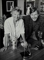 Julia Smith and Tony Holland