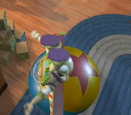 Luxo ball in Toy Story