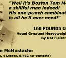 Boston Tom McMustache