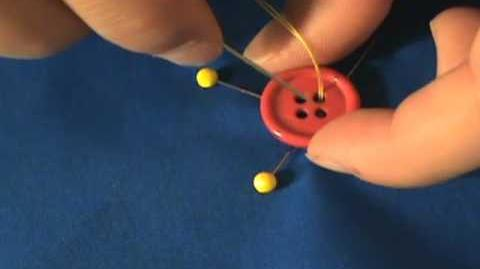 Sewing Tip 2 How To Hand Sew A Button