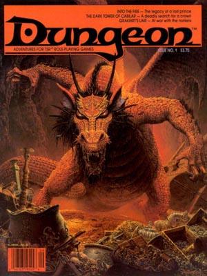 Dungeon Magazine Cover