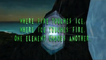 Ice and fire glyph