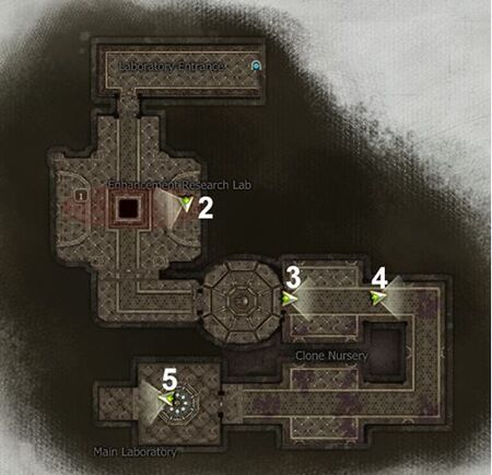 Clone Lab Map