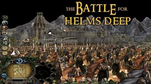 BFME2- Edain Mod - The Battle for Helm's Deep!