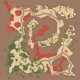 map of Avila Volcano