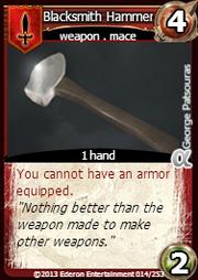 Blacksmith Hammer