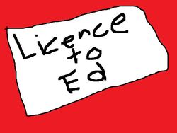 License to Ed 1