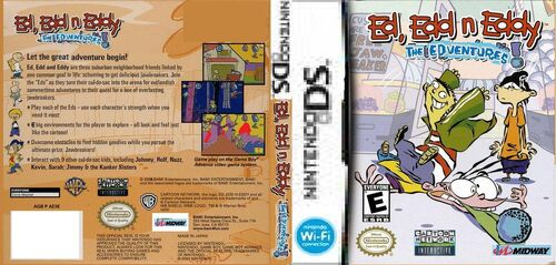 Ed edd n eddy the edventures box art