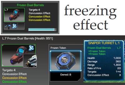 Frozen Dual Barrels
