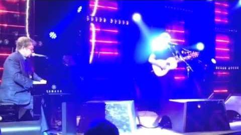 Ed Sheeran & Elton John - Candle In The Wind - Chopard's Elton John AIDS Foundation Oscar Party